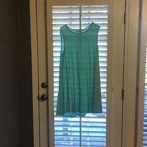 Sleeves less dress